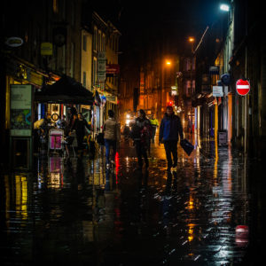 Rainy Night in Lancaster: Photo by Johnny Bean (www.beanphoto.co.uk)